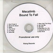(DA1000) Mecalimb, Bound To Fall - DJ CD