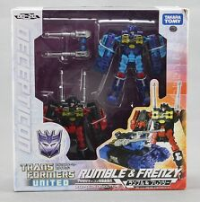 Takara Tomy TRANSFORMERS United UN-20 Rumble & frenzy Figure