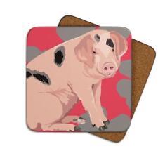Leslie Gerry LGCOA030 Single Coaster Pig