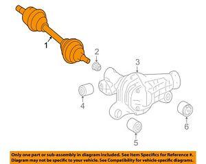 Mercedes MERCEDES-BENZ OEM 14-15 ML350 Front Drive-CV Shaft Axle Assy 1663303300