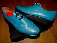 Paul Smith Smart Diseñador Turquesa Cuero Con Cordones Zapatos Uk 9 EU 43