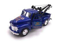 Modellino Auto Chevrolet Tow Camion Pic Up Blu Auto Scala 1:3 4-39 (Licenza)