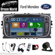 In Dash 2Din GPS Navigator Car Radio Stereo DVD Player For Ford Focus Mondeo+CAM