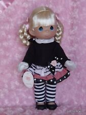 "New Precious Moments * Fashion Frenzy * 12 "" Vinyl Doll by Linda Rick Doll Maker"