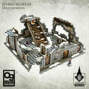 Frostgrave Second Edition - Living Museum (HDF) NEW Kromlech Scenery Sigmar