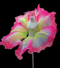 Da NeeNa B032N Cabaret Vegas Showgirl Rose Gigantic Flower Petal Belt