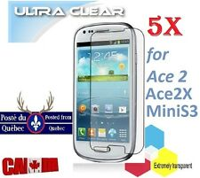 5X Protecteur Ecran ULTRA clair Samsung Galaxy Mini S3 Clear Screen Protector