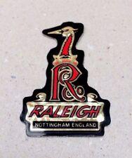 "*OLD SCHOOL BMX ""RALEIGH"" BURNER HEAD-BADGE DECAL 1980'S RALEIGH FACTORY! NOS*"