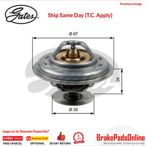 Thermostat for AUDI 100 Quattro C4 4A2 AAN 2.2L Petrol Turbo S4 5Cyl 4WD TH13287