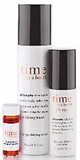 Philosophy Time in a Bottle Treatment  for FACE 1.3 oz & EYES 0.5oz  SET