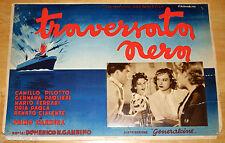 fotobusta cartonata orig TRAVERSATA NERA Germana Paolieri  Domenico Gambino 1939