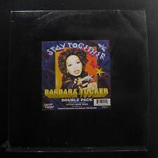 """Barbara Tucker Stay Together 2 12"""" Mint- SRB024 Strictly Rhythm 1995 Record"""