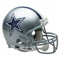 DALLAS COWBOYS RIDDELL NFL FULL SIZE AUTHENTIC PROLINE FOOTBALL HELMET