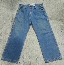 Levi Strauss Signature Workwear Men's Carpenter Jeans Cargo Size 34 x 29