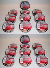 "Qty 20 Rolls Pack of New 3M Temflex 1700 Black Electrical Tape 60' Foot  X 3/4"""