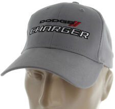 Dodge Charger RT Gray Baseball Cap Trucker Hat Snapback SRT Mopar