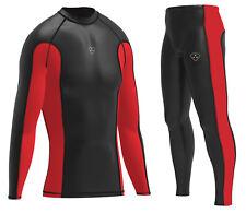DHERA Mens Compression  Base layer Top Breathable Shirt & Running Yuga Pant