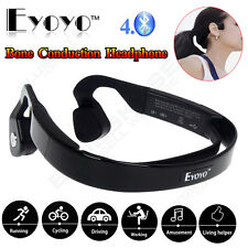 EYOYO Open Ear Bone Conduction Bluetooth Wireless Headphones For iPhone Samsung
