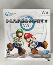 Mario Kart Nintendo Wii, 2008 ORIGINAL BOX + WHEEL ONLY (NO GAME)