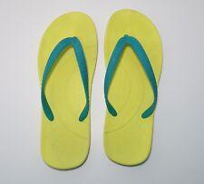 Crocs  M7 W9 flip flops sandals thong  yellow
