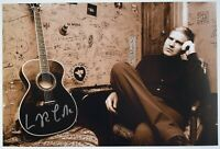 Lloyd Cole Signed 12x8 Photo Autograph Signature Commotions Music AFTAL COA