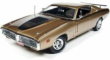 1971 Dodge Charger R/T GOLD 1:18 Auto World 1086