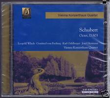 SCHUBERT CD NEW OCTET D 803/ VIENNA KONZERTHAUS QUARTET