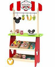Kaufladen Kinder Kaufmannsladen mit Zubehör Supermarkt Kasse Laden Holz Disney
