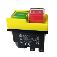 Kjd20 2 Kedu 220v 4pin Electromagnetic Power On Off Safety Pushbutton Switches