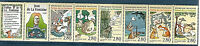 TIMBRES 2958-2963 BANDE B2964 NEUF XX  FABLES DE LA FONTAINE - BANDE COMPLETE
