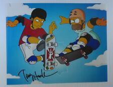 TONY HAWK signed 11x14 photo THE SIMPSONS