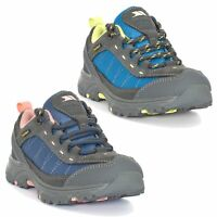 Trespass  Hamley Kids Waterproof Walking Boots Grey Boys Girls Hiking Shoes