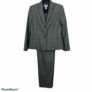 PENDLETON'S Women's 2pc Pant Suit Size 10 Blazer & Pants 100% Virgin Wool