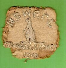 #D363.  1948 COMBINED SYDNEY RUGBY LEAGUE PATCH