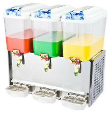 4.75 Gallon Triple Fruit Juice / Beverage/ Ice Tea Dispenser