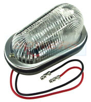 BRITAX PMG 536 FRONT MARKER LIGHT LAMP WITH METAL BEZEL CARAVAN MOTORHOME