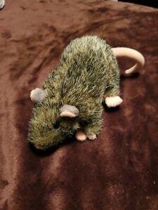 "Wizarding World Harry Potter Scabbers Rat Plush Toy 7"" Ron Weasley Stuffed Pet"