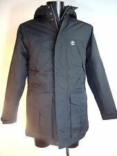TIMBERLAND Black Waterproof PARKA Padded with Hood Size XXL BNWT