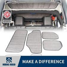Hooke Road Hard Top Headliner Insulation Kit 4-Door For 11-18 Jeep Wrangler JK