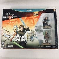 Disney Infinity (3.0 Edition) (Nintendo Wii U, 2015) Star Wars Starter Set New!