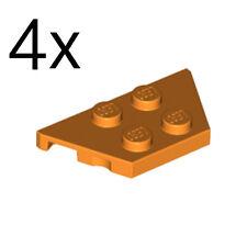 LEGO 4x Orange Wedge, Plate 2x4 51739 6025385 NEW