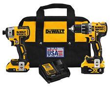 DEWALT DCK287D1M1 20V Cordless Hammer Drill and Impact Driver Combo Kit