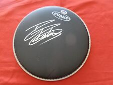 Signed Drum Head Rikki Rockett From Poison W/ Psa / Dna P67161 Authentic
