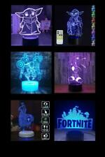 Night Light 7Color LED Desk Touch Lamp USB or AA Batteries
