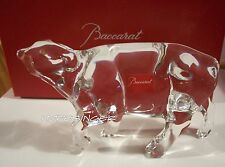 NEW in BOX BACCARAT Crystal ZODIAC Ox Year of the Ox 2009