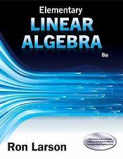 elementary linear algebra 8e