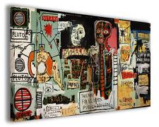 Quadro moderno Jean Michel Basquiat vol IX stampa su tela canvas arredo poster