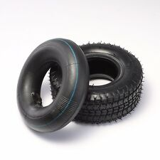 Tyre & Inner Tube 9x3.50-4 Tire 9x3.5-4 Scooter Pocket ATV 49cc 4'' Bent Valve