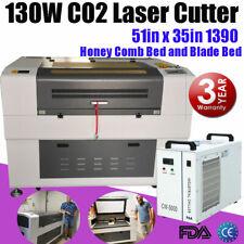 130w Reci Co2 Laser Cutting Machine Laser Cutter Laser Engraving Engraver 1390