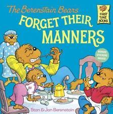 Berenstain Bears Forget Their Manners by Jan & Stan Berenstain GUC PB VINTAGE